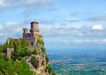 Itália kincsei & San Marino miniállama