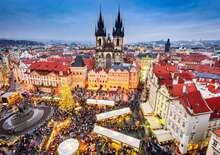 Advent Prágában