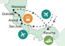 Közép-Amerika természeti kincsei (Panama – Costa Rica – Nicaragua)