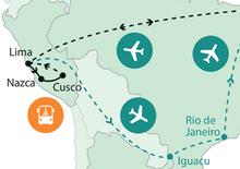 Keresztül Dél-Amerikán