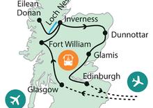 A rettenthetetlenek földjén Skóciában
