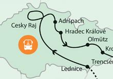 Kirándulás a Cseh Paradicsomba