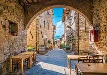 Itália zöld szíve, Umbria